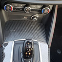 The center console of the 2019 Alfa Romeo Stelvio QV