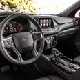 Interior of 2019 Chevy Blazer