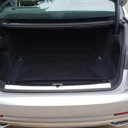 Cargo area of 2018 Audi A8