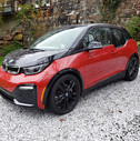 The quirky i3 design still turns heads six years into its run