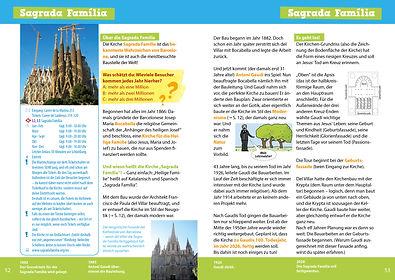 Barcelona für dich! Reiseführer für Kinder Innenansicht