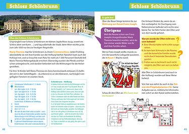 Wien für dich! Reiseführer mit Comics und Rätseln für Kinder Innenansicht