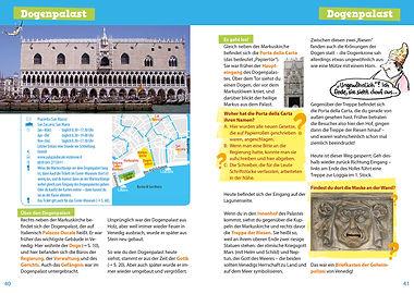 Venedig für dich! Reiseführer mit Comics und Rätseln für Kinder Innenansicht