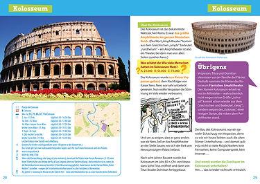 Rom für dich! Reiseführer mit Comics und Rätseln für Kinder Innenansicht