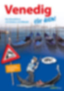 Venedig für dich! Reiseführer mit Comics und Rätseln für Kinder Cover Gondeln