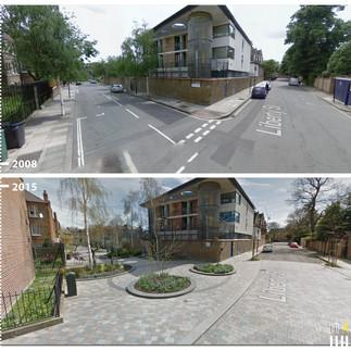 0953 UK London, Van Gogh Walk