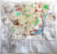 Hand drawn map by Yuval Fogleson 1998