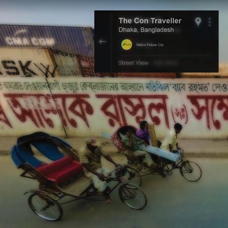 The Con Traveller - Dhaka