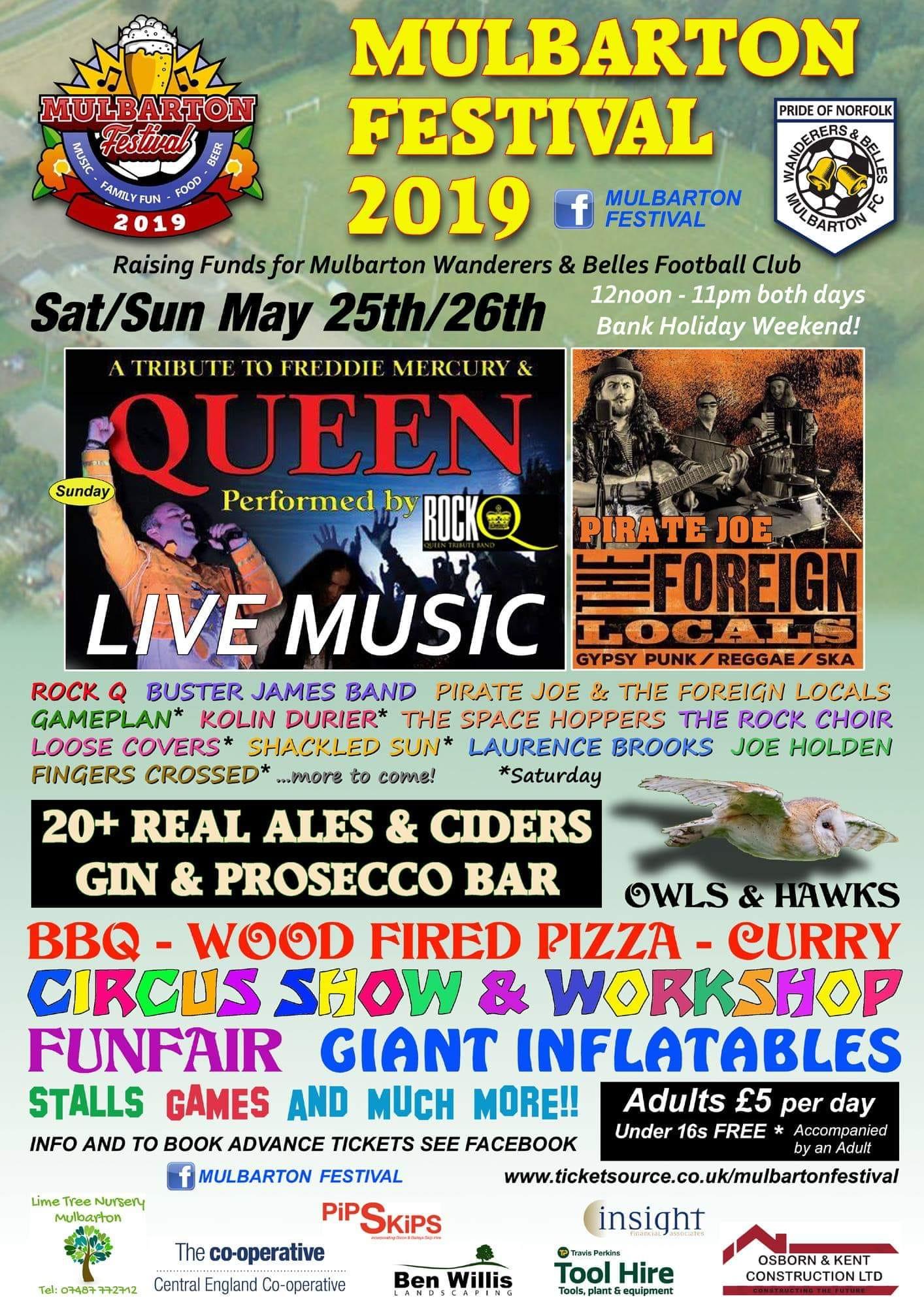 Mulbarton Festival 2019
