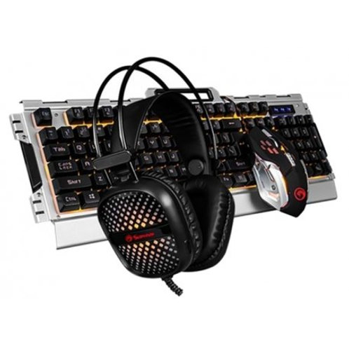CM-303 Teclado+Mouse+Headphone