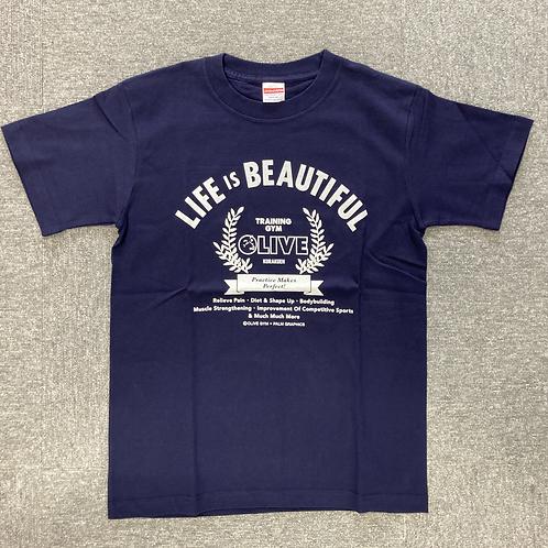 OLIVE T-shirt ネイビー size XS