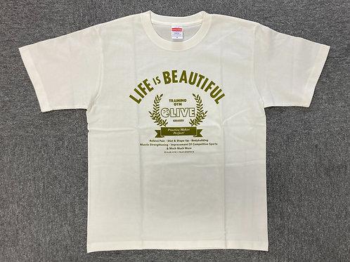 OLIVE T-shirt ホワイト size XL
