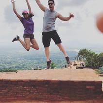 Climbed Sigiriya rock fortress in Sri Lanka