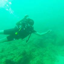 Scuba Diving in Hikkaduwa, Sri Lanka