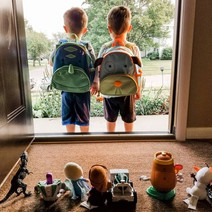 Will and Wesley just started preschool. It is crazy how fast time is going.