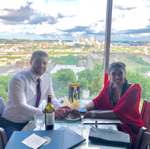 Dinner with a view at Prima Vista.