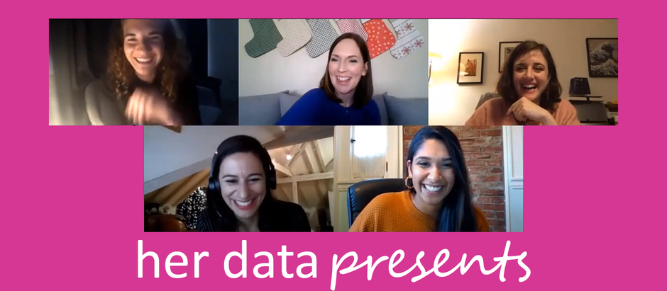 HER DATA PRESENTS: A TASTE OF CHRISTMAS