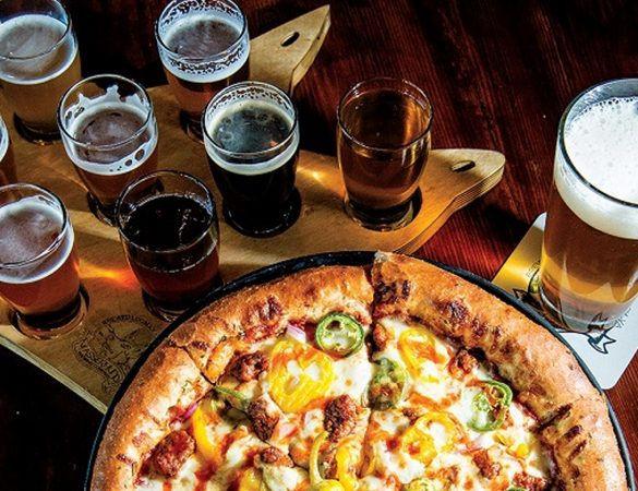 Ølsmaking/Omvisning og Pizza