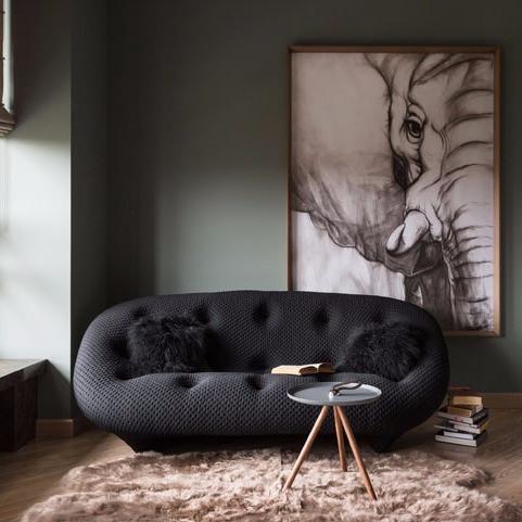 Разделение пространства мебелью