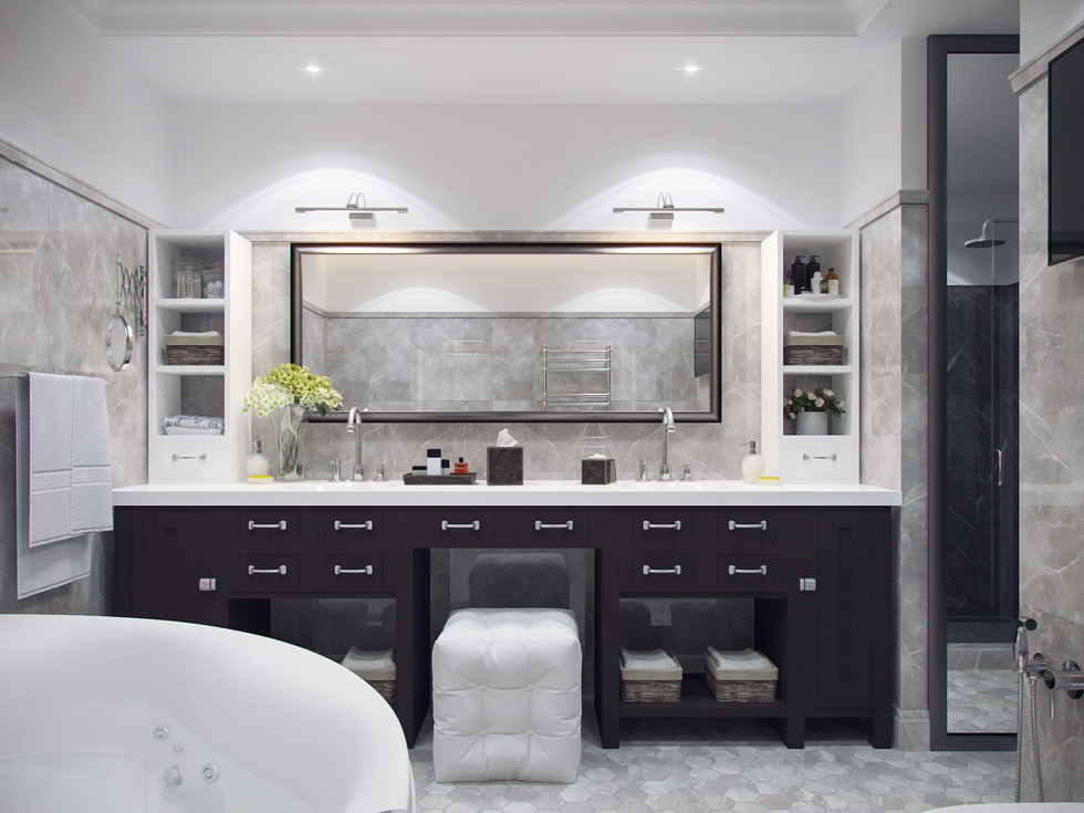 Элитный дизайн ванной