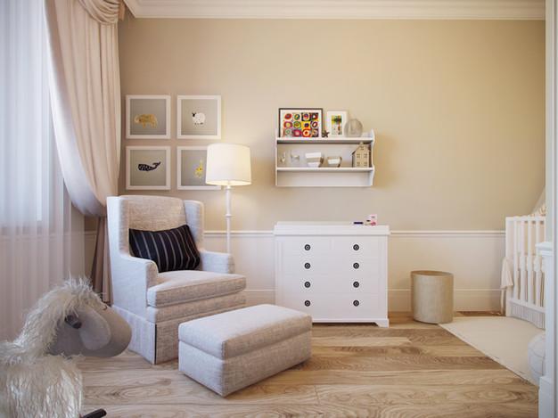 Дизайн и декор детской комнаты