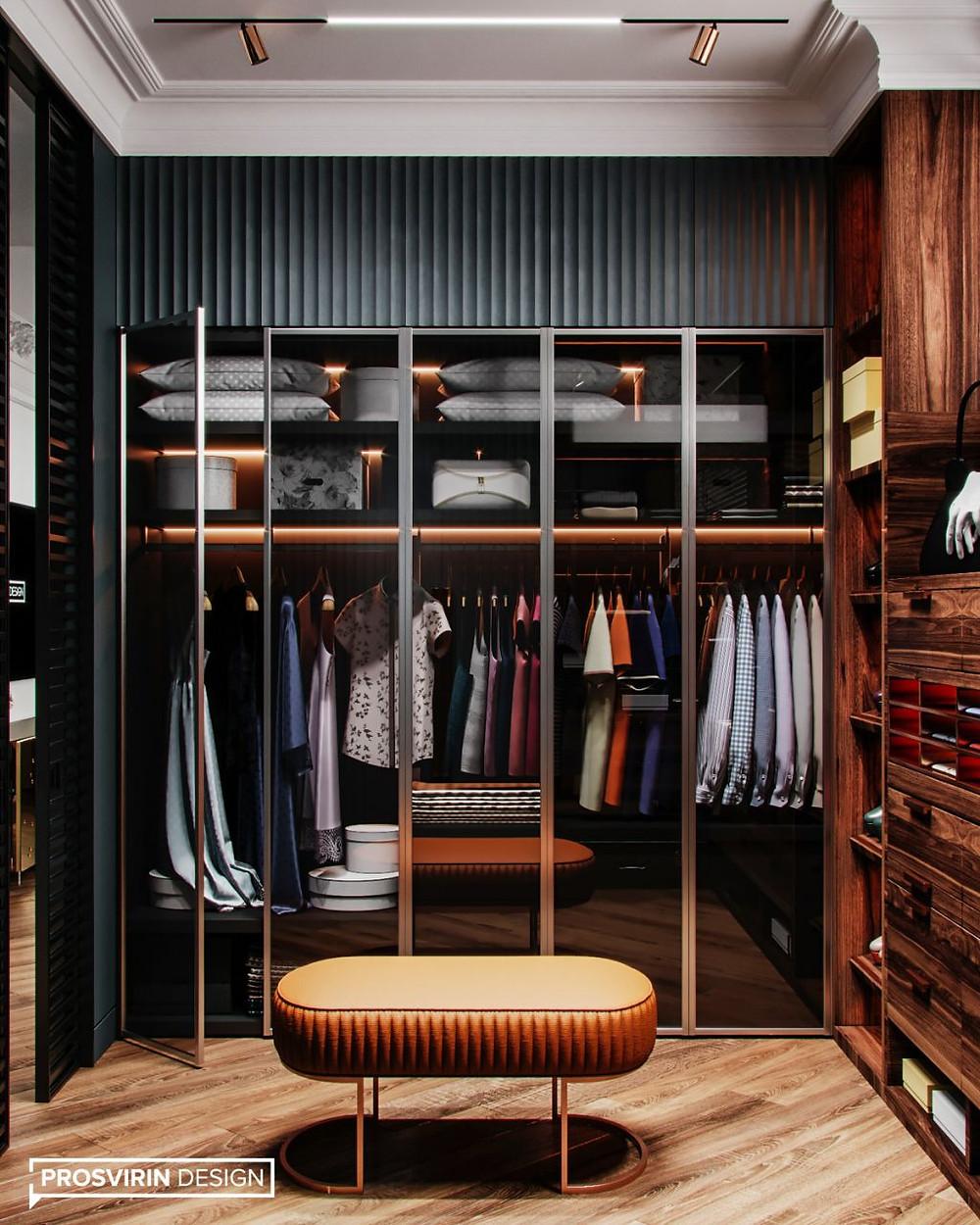 хранения в гардеробной