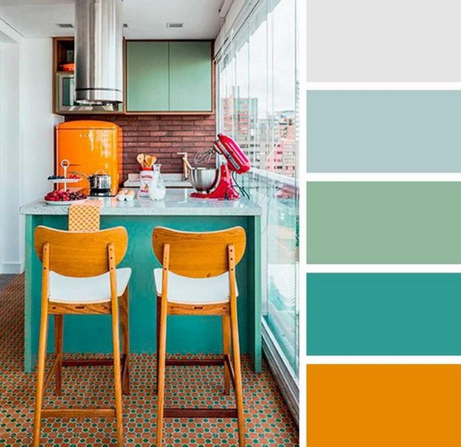 пастельная цветовая палитра