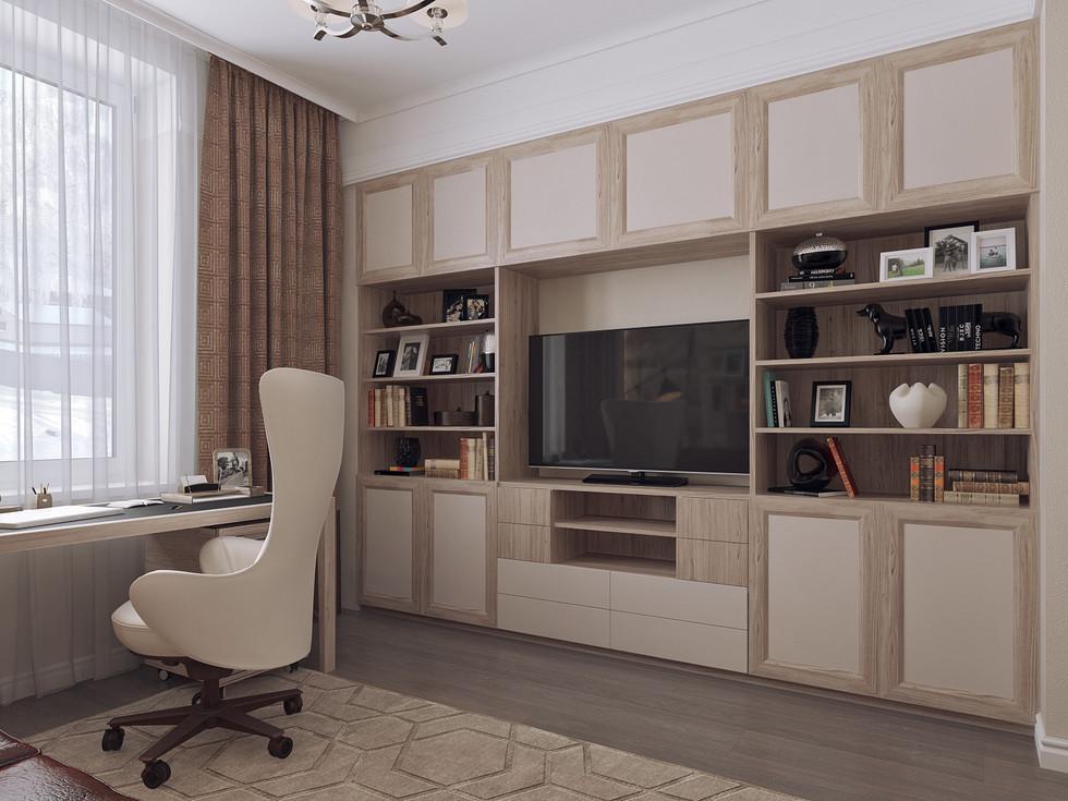 Кабинет дизайн интерьеров