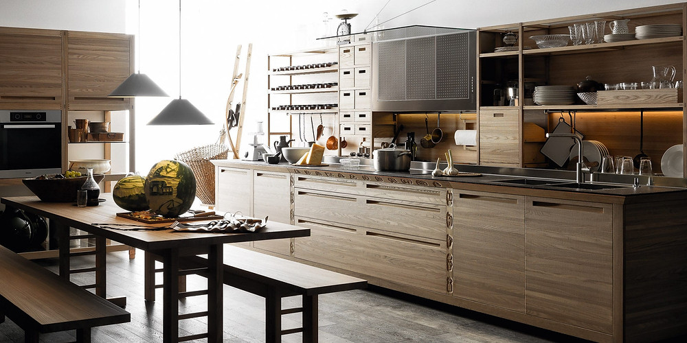 современные фасады для кухни