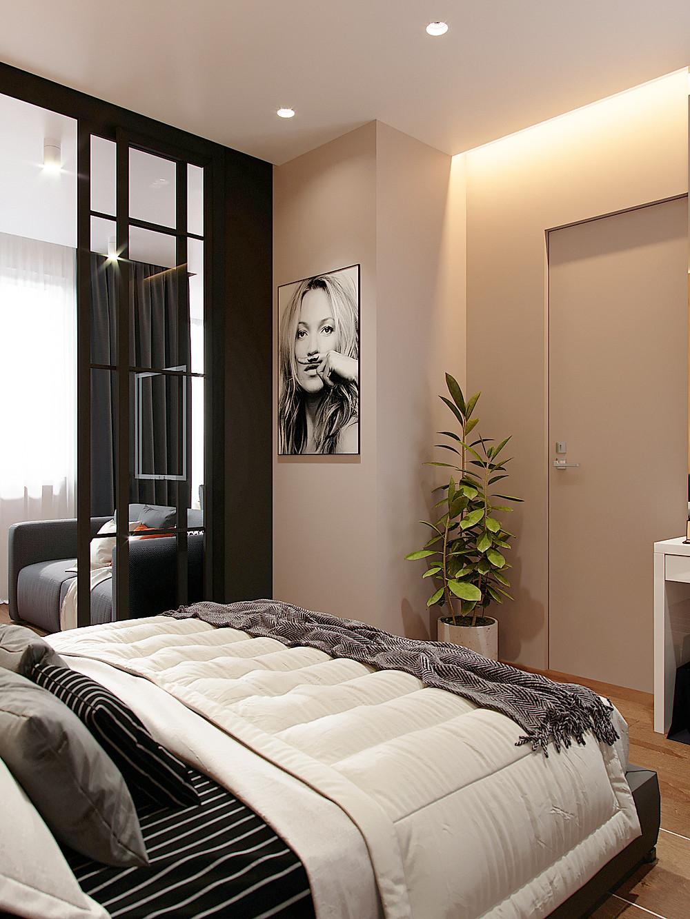 декорирование современного стиля интерьера