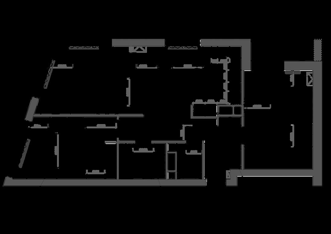 зонирование пространства - планировка