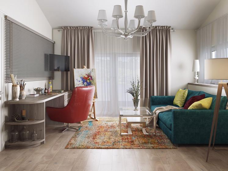 Авторский дизайн интерьера дома