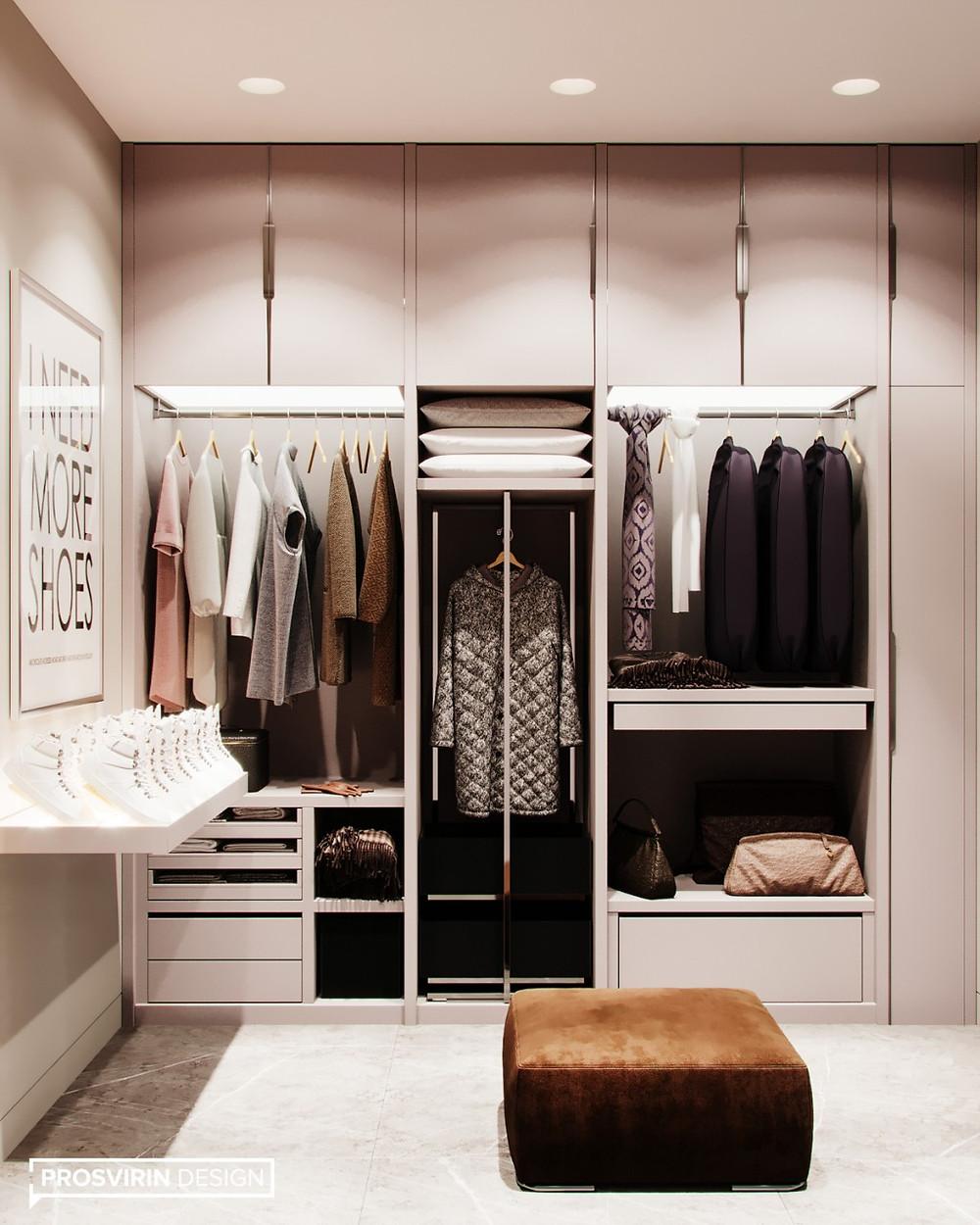 хранение в гардеробной