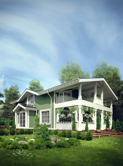 Дизайн домов и коттетджей