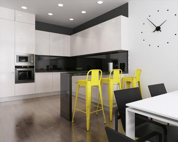 Креативный дизайн кухни
