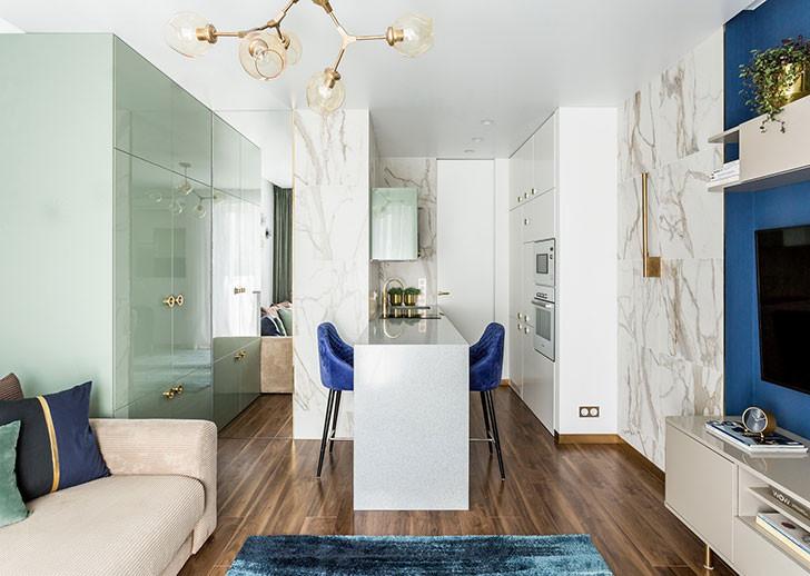 как расширить маленькую квартиру
