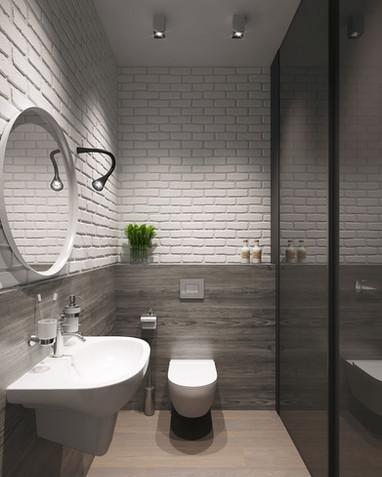 Рендеры ванной комнаты