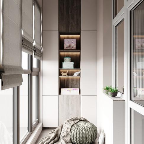 Балкон в детской комнате: как использовать