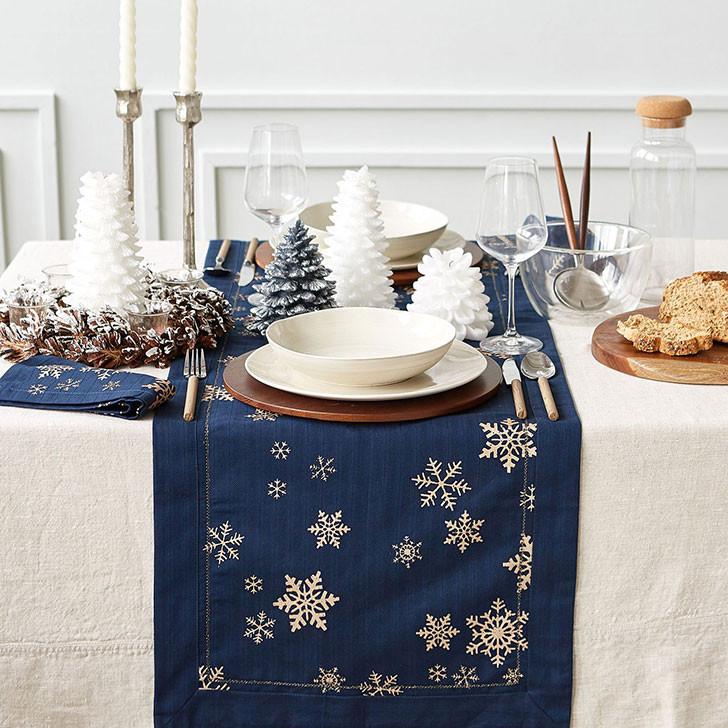 праздничные украшения стола