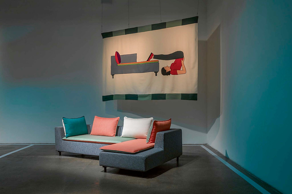 диван Barbican для Established & Sons