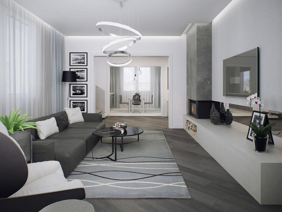 Дизайн зала и гостиной