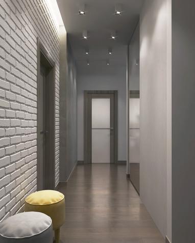 Рендеры коридора