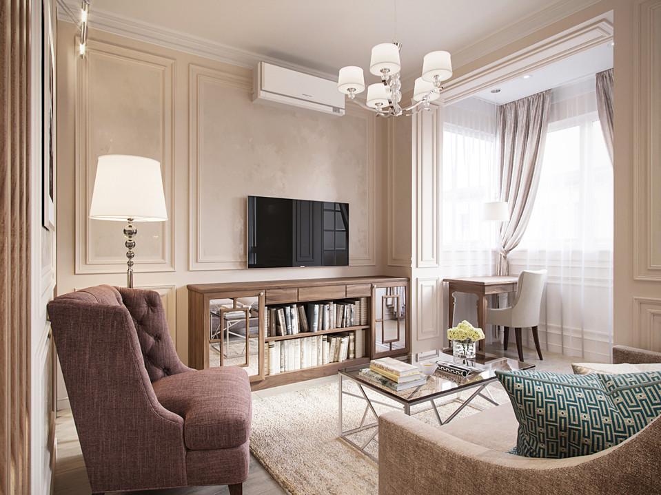 Элегантный дизайн гостиной