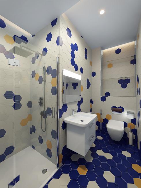 Разработка дизайна ванной