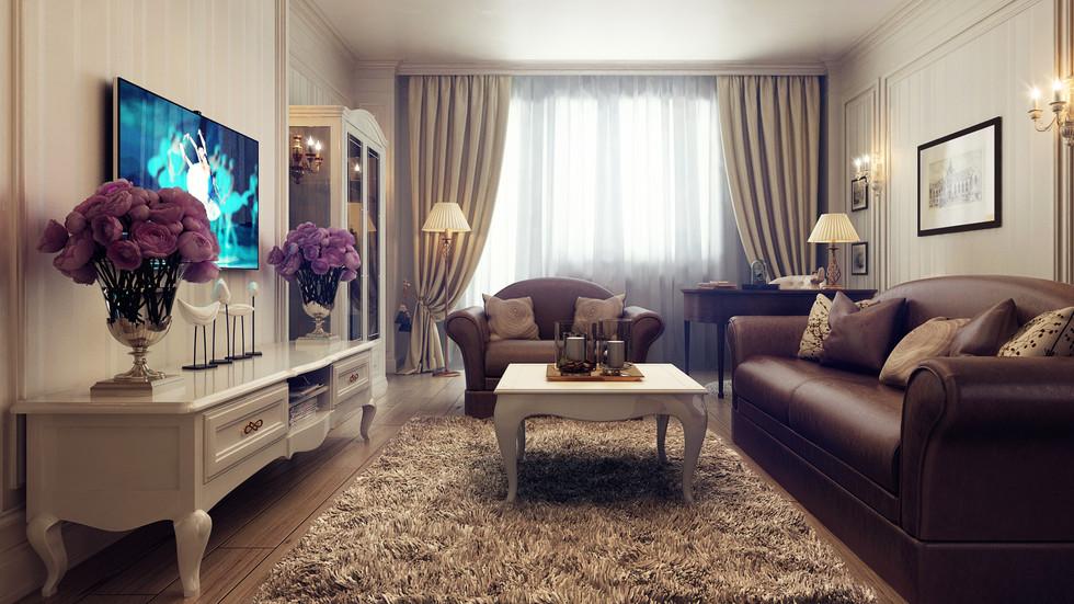 Декорирование гостиной и зала