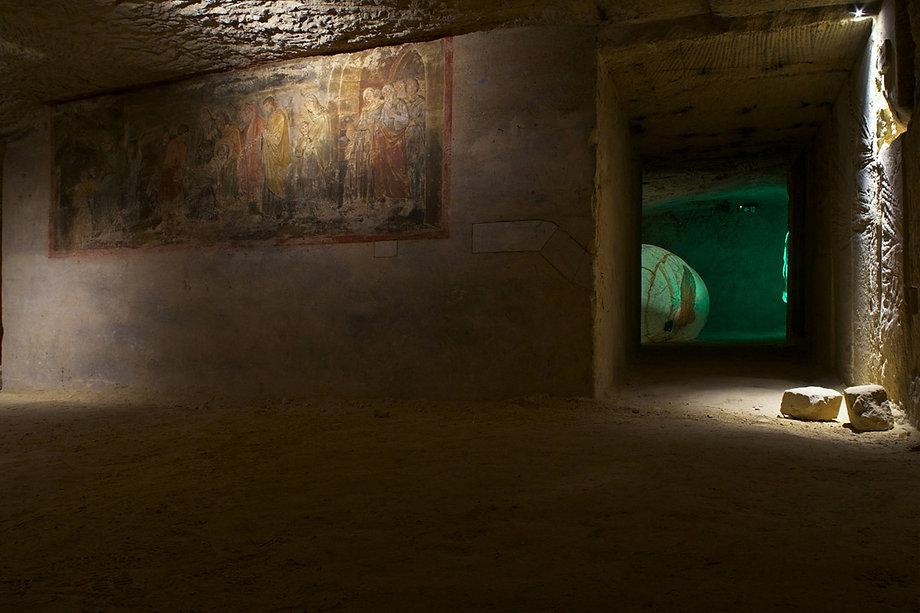 cascione-lusciov-museum-romeinse-katakom
