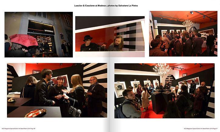 Cascione & Lusciov at MODWAX Design & Crafts feature in ACS Magazine