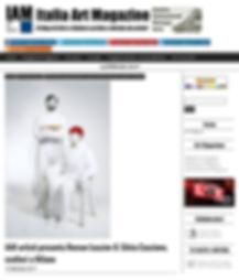 Italia Art Magazine presents artists Roman Lusciov & Silvia Cascione