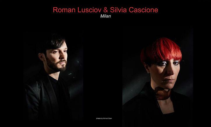 Roman Lusciov & Silvia Cascione portraits in ACS Magazine