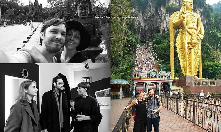 Cascione & Lusciov travelling adventures feature in ACS Magazine